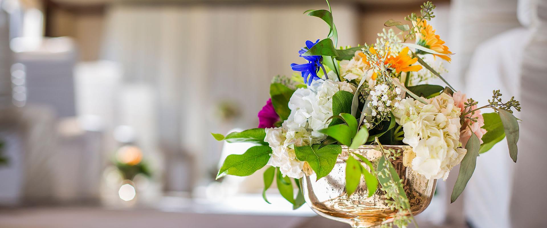 Yorkville Toronto Flower Centerpiece