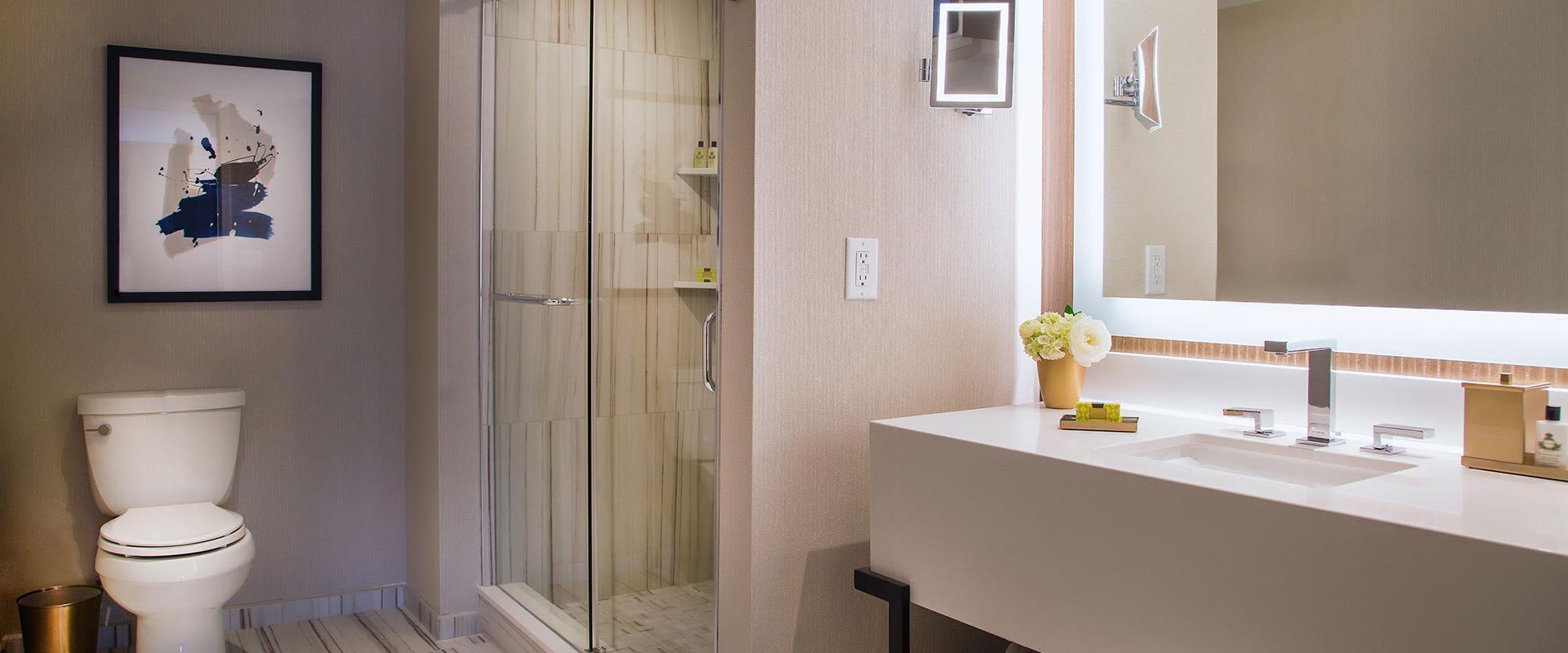 Yorkville Toronto Guestroom Shower