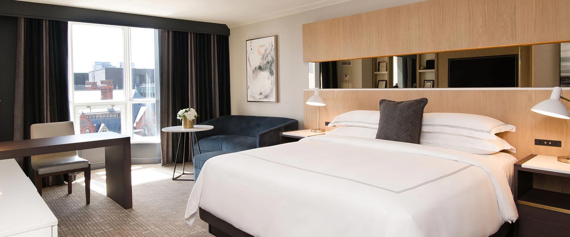 Yorkville Toronto Hotel Guest Room