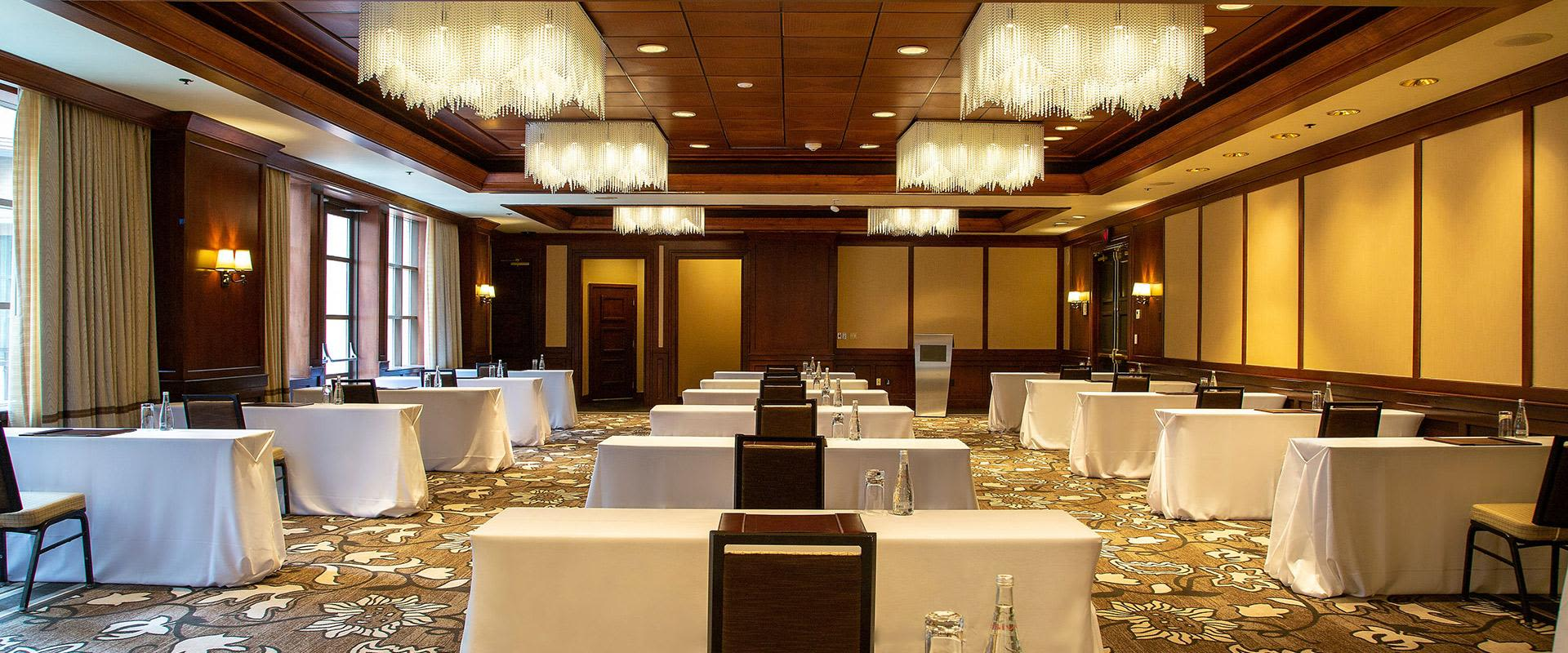 Yorkville Toronto Meeting Room With Podium