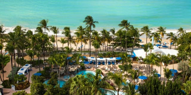 Royal Sonesta San Juan - The swaying palm trees, glitter waters, and golden sands of Puerto Rico await your arrival.