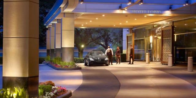 Royal Sonesta Houston exterior valet entrance - undefined