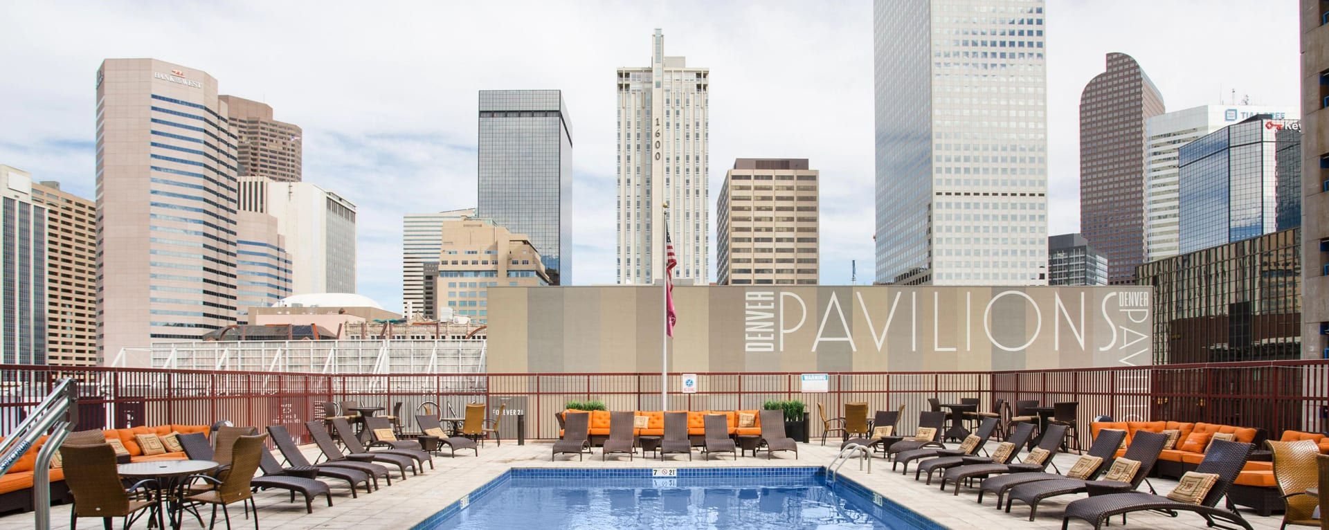 Downtown Denver Hotel with Pool