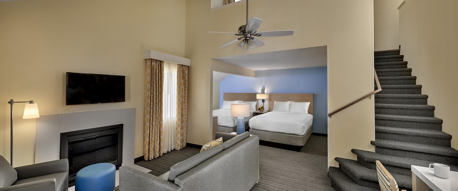 Two Bedroom Loft Suite