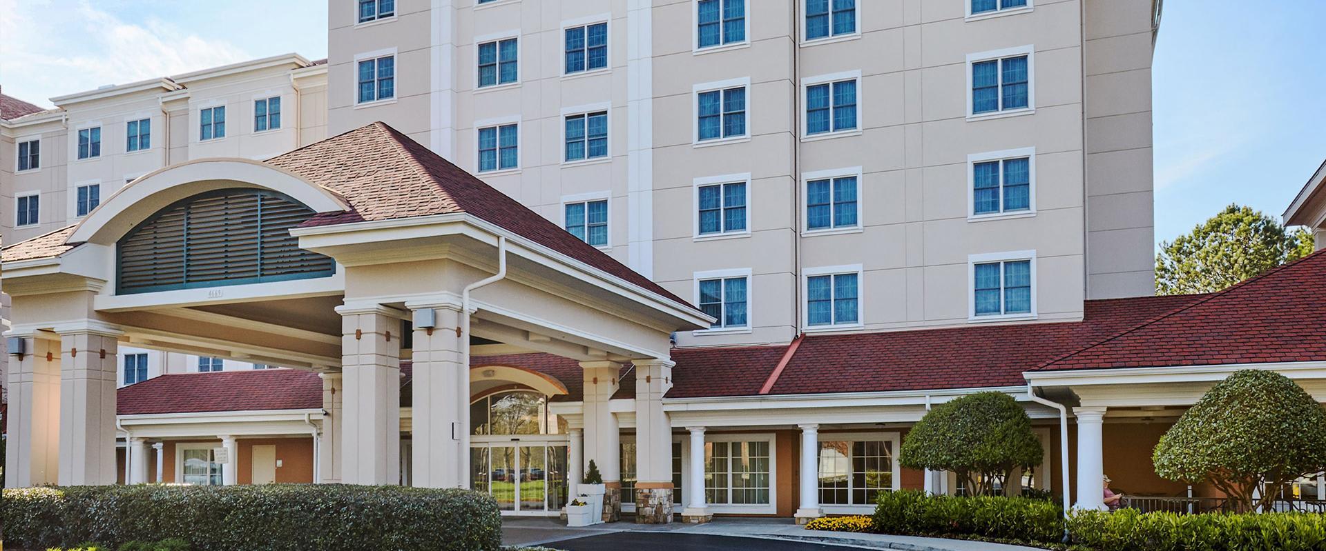 Atlanta Airport Hotel Exterior