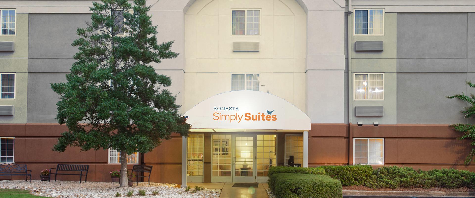 Sonesta Simply Suites Birmingham Hoover Hotel Entrance