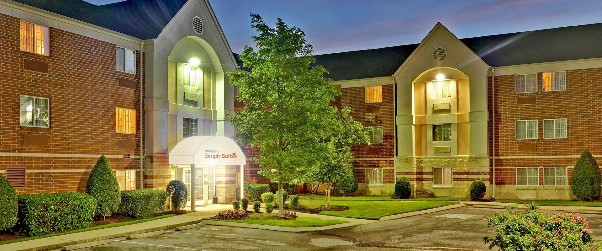 Sonesta Simply Suites Nashville Brentwood Hotel Exterior Entrance