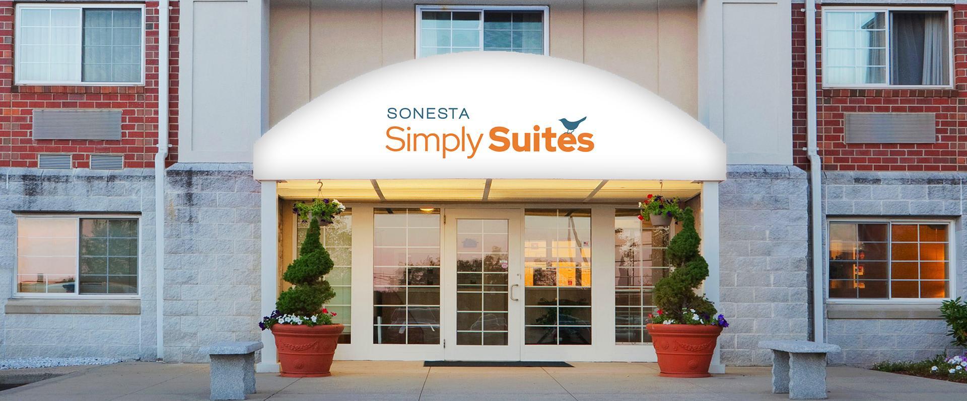 Sonesta Simply Suites Boston Burlington Hotel Exterior Entrance