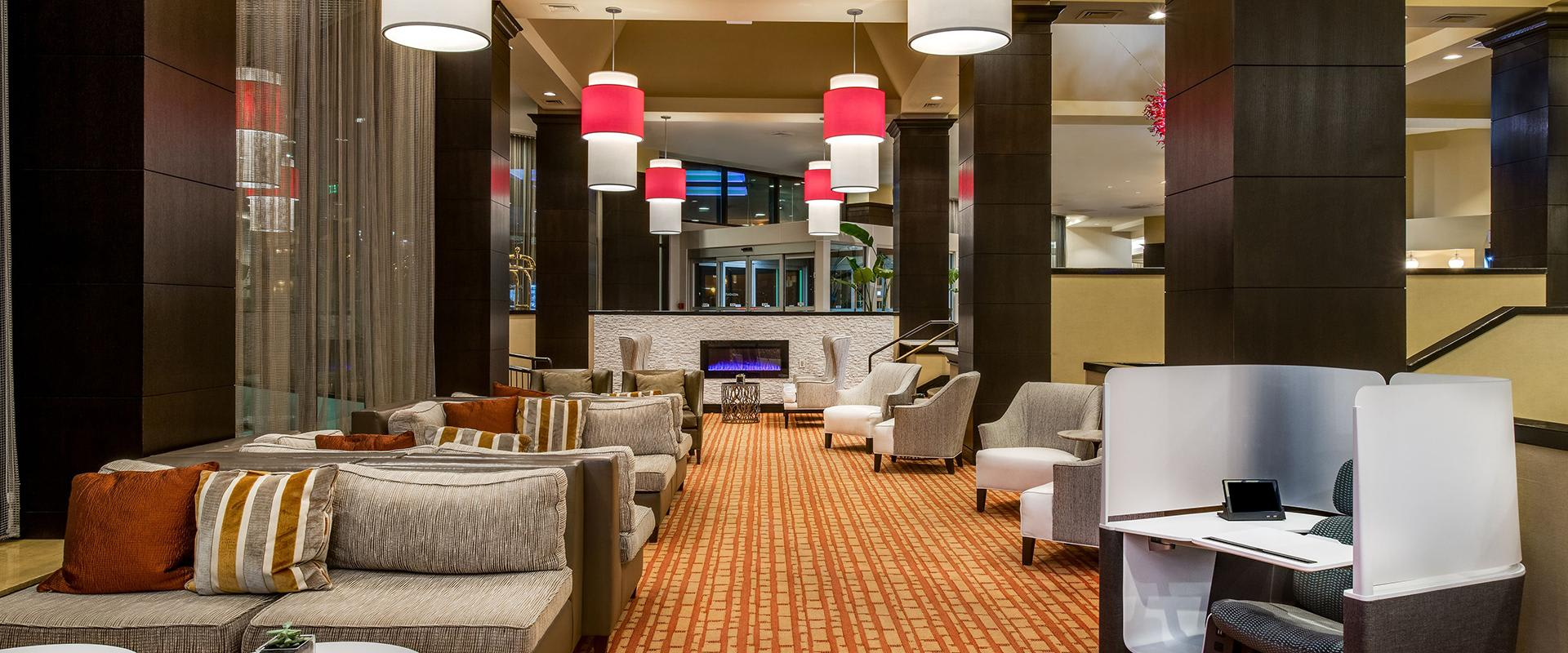 White Plains Hotel Lobby Seating