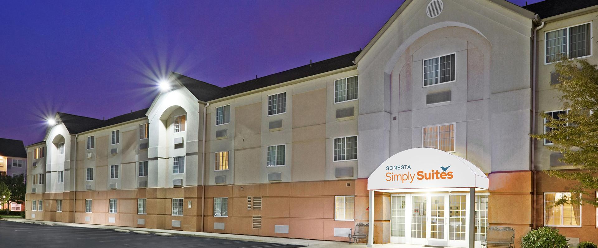 Simply Suites exterior