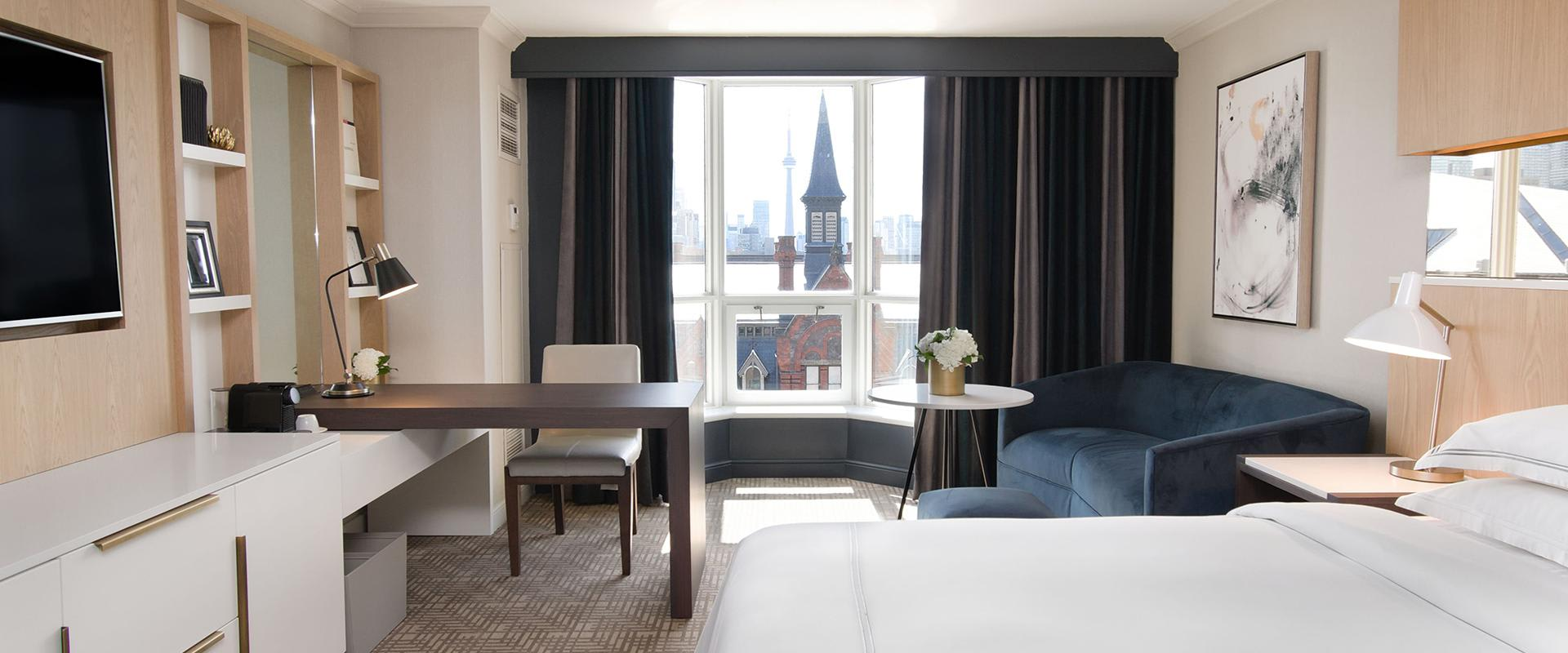Yorkville Toronto Deluxe King Guest Room