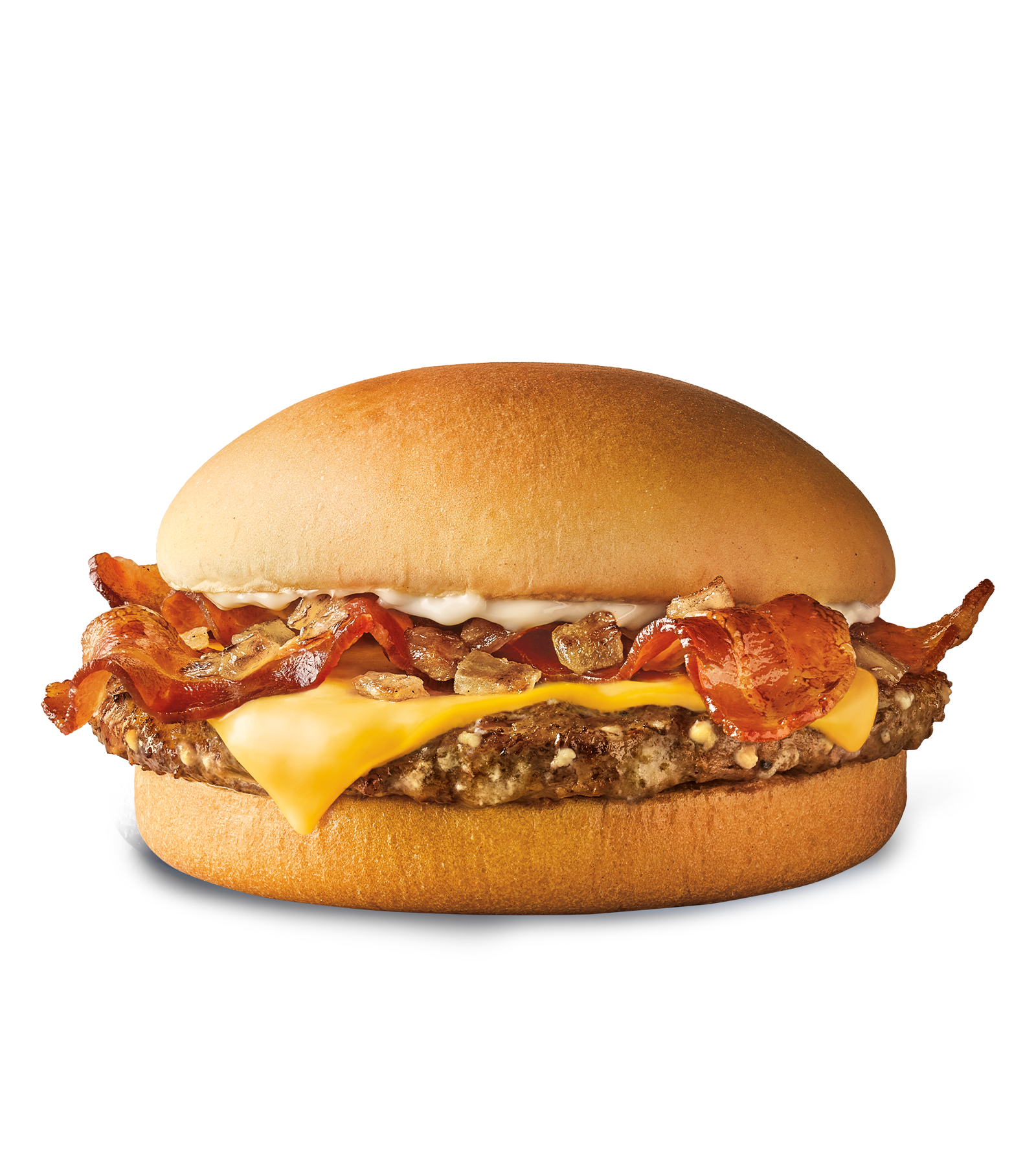 Sonic Drive In Garlic Butter Bacon Burger