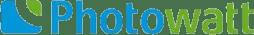 Logo des Solar Herstellers Photowatt , auf Solartraders finden Sie Produkte führender Hersteller wie Jinko, Trina, Canadian Solar, SMA, Fronius, Huawei und viele weitere Marken aus der Photovoltaik Branche