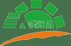 Logo des Solar Herstellers Amerisolar , auf Solartraders finden Sie Produkte führender Hersteller wie Jinko, Trina, Canadian Solar, SMA, Fronius, Huawei und viele weitere Marken aus der Photovoltaik Branche