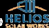 Logo des Solar Herstellers Helios Solar Works LLC, auf Solartraders finden Sie Produkte führender Hersteller wie Jinko, Trina, Canadian Solar, SMA, Fronius, Huawei und viele weitere Marken aus der Photovoltaik Branche