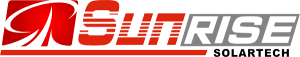Logo of the solar company Sunrise , all major brands such as Jinko, Trina, Canadian Solar, SMA, Fronius, Huawei and many more can be found on Solartraders