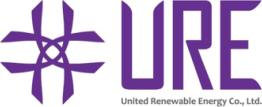 Logo des Solar Herstellers URE, auf Solartraders finden Sie Produkte führender Hersteller wie Jinko, Trina, Canadian Solar, SMA, Fronius, Huawei und viele weitere Marken aus der Photovoltaik Branche