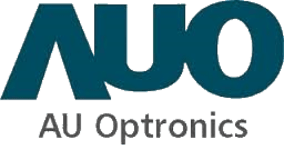 Logo of the solar company AU Optronics  (AUO), all major brands such as Jinko, Trina, Canadian Solar, SMA, Fronius, Huawei and many more can be found on Solartraders
