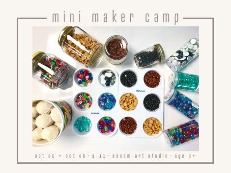 ⋒ MINI MAKER CAMP ⋒