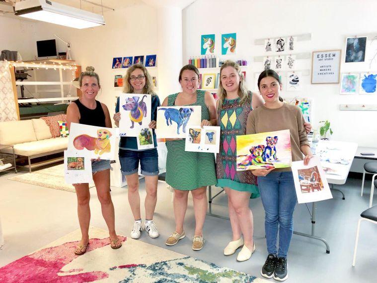 ⋒ Workshop: Paint Your Pet ⋒