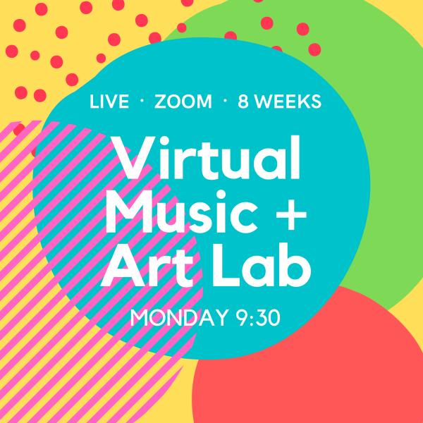 8 Week Toddler Music + Art Lab