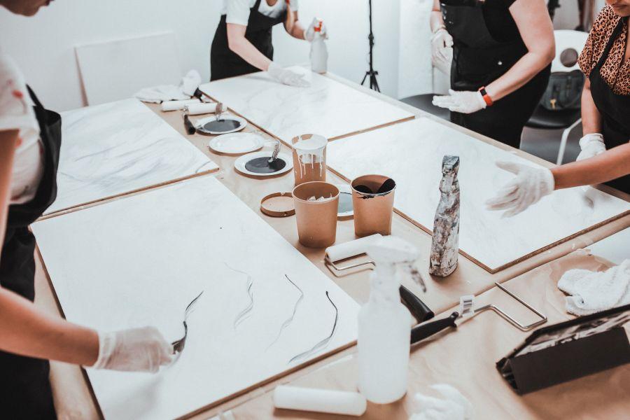 Workshop with Svitlana Pimenov of white.c.a.n.v.a.s.