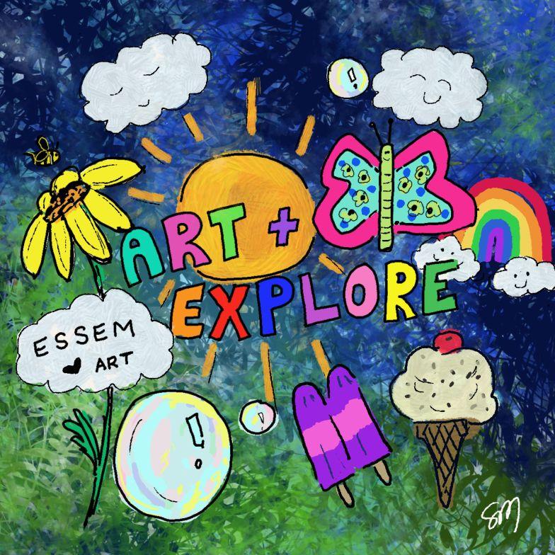 Summer Art + Explore · Virtual Minicamp
