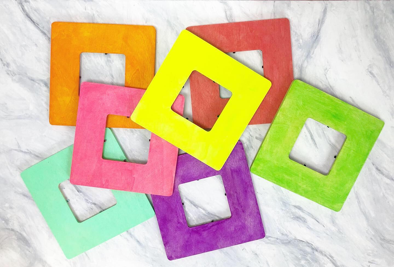 Art Lab Colorful Wooden Frames E S S E M