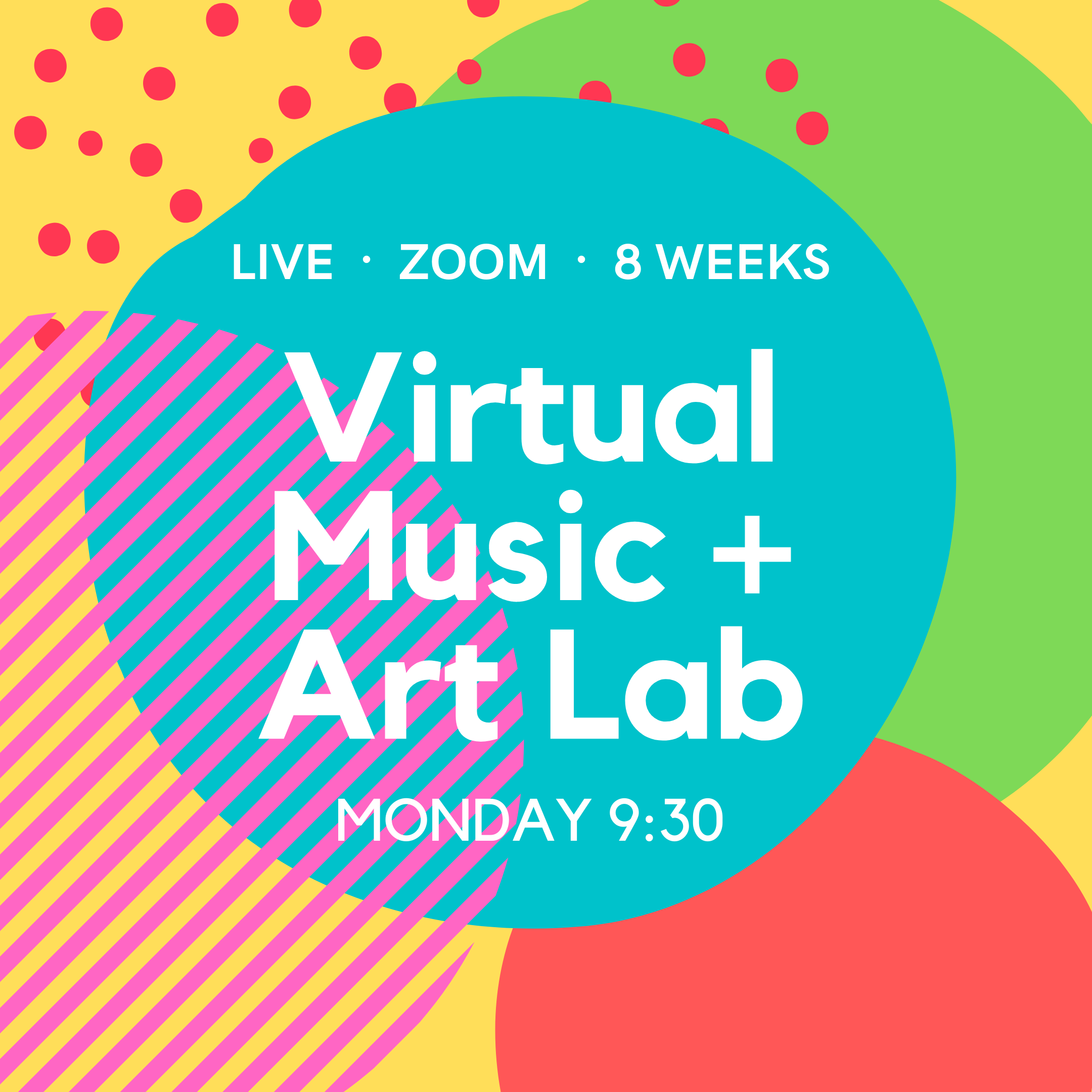 8 Week Toddler Music + Art Lab
