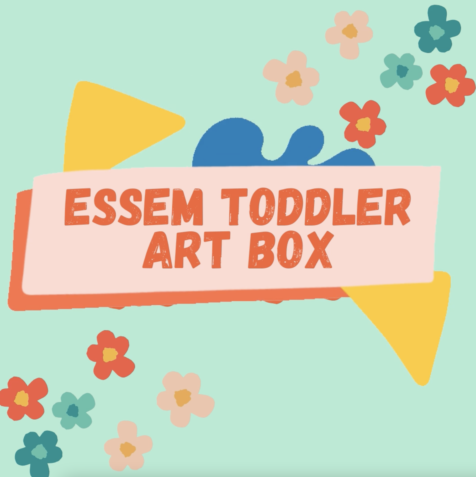 Newly Minted Toddler Art Box