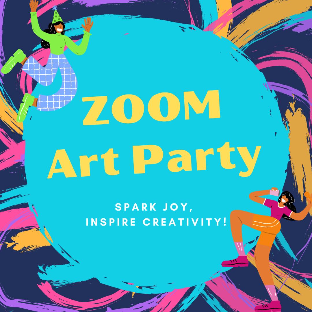 Zoom Art Parties