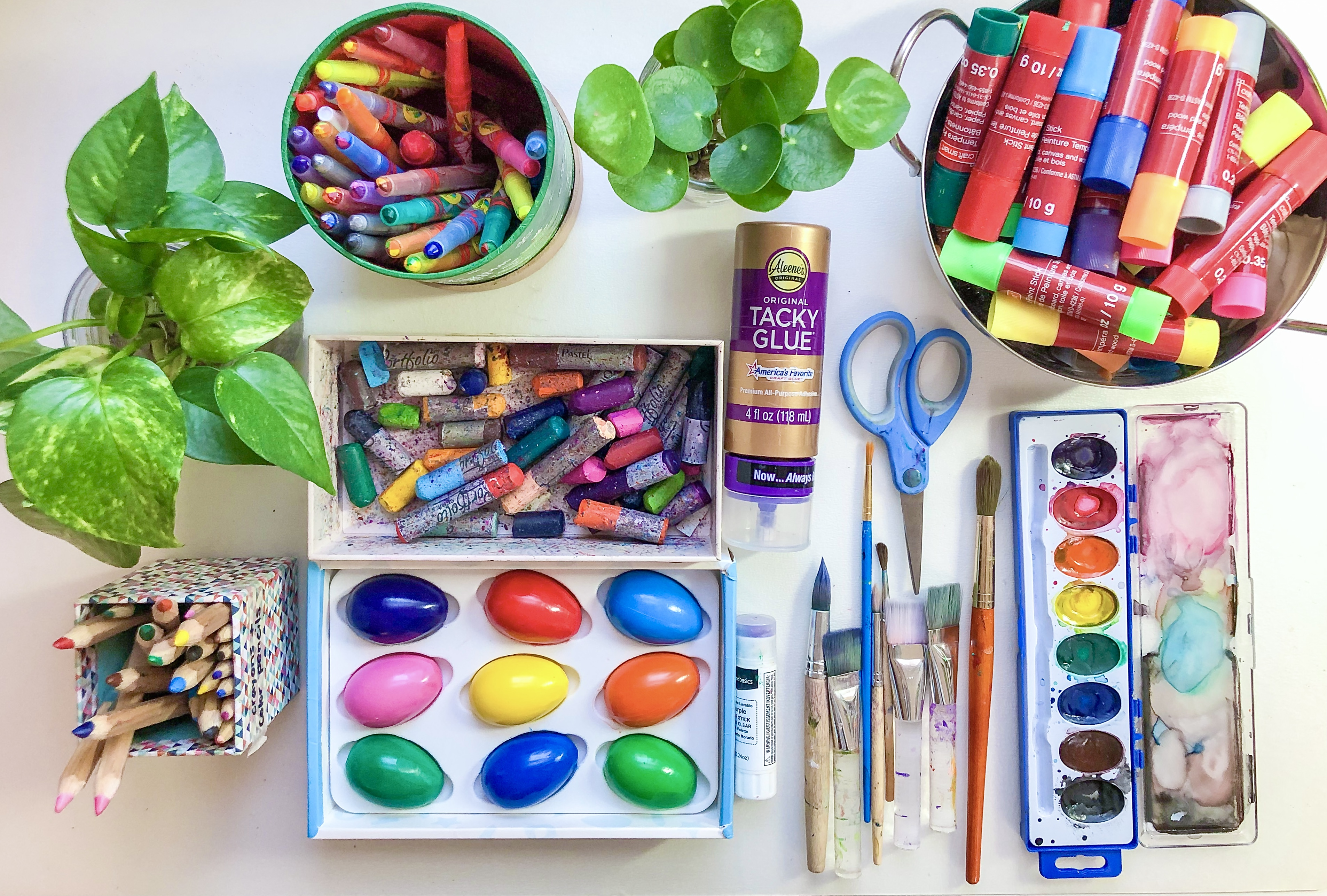 "Our ""Go To"" Kids Art Materials…"