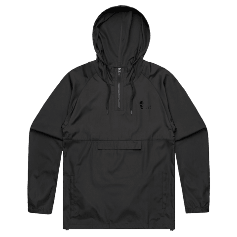 Square   Water Resistant Windbreaker in  by Buff Diss