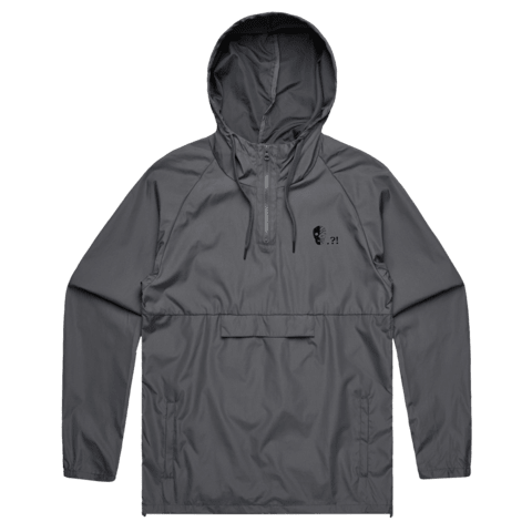 Triangle   Water Resistant Windbreaker in  by Buff Diss
