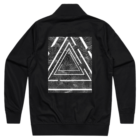 Triangle   100% Cotton Bomber Jacket in Black / XXL by Buff Diss