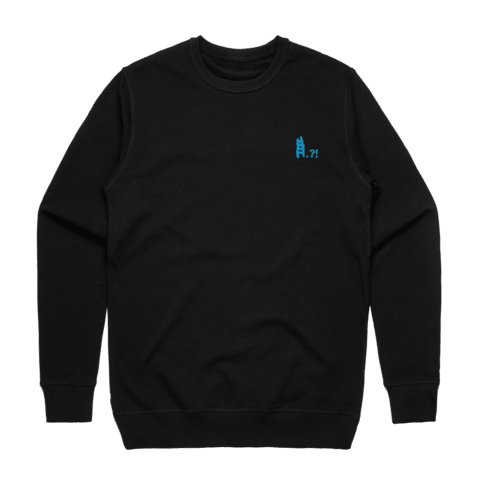 Ladder   Men's 100% Cotton Embroidered Sweatshirt in Black / XXL by erinswindow