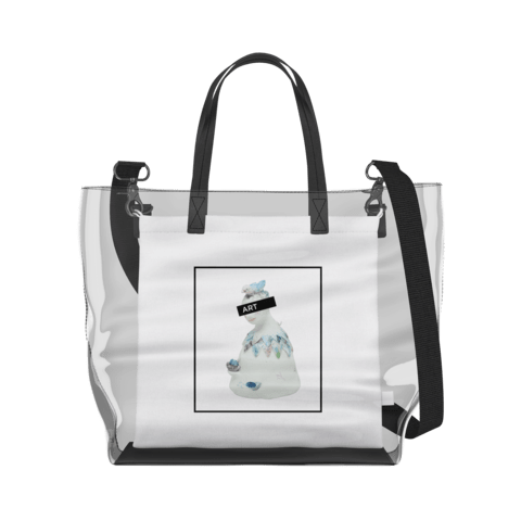 Bell People   Clear Tote Bag in Clear / Cream by erinswindow