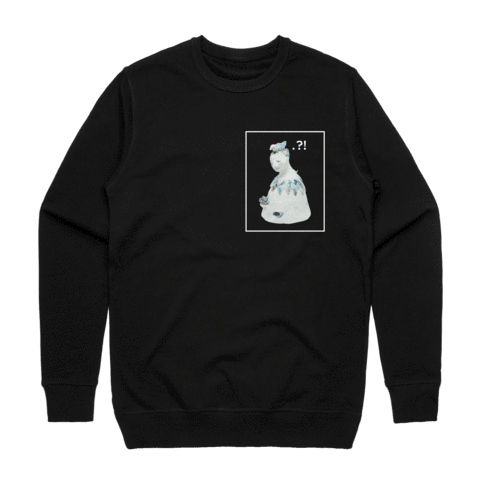 Bell People 01   Men's 100% Cotton Minimal Sweatshirt in Black / XXL by erinswindow