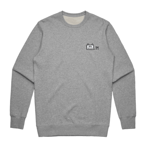 Miiya   Men's 100% Cotton Embroidered Sweatshirt in Grey / XXL by Enpei Ito
