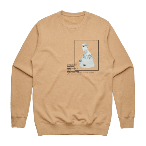 Bell People 01   Men's 100% Cotton Gallery Sweatshirt in Tan / XXL by erinswindow