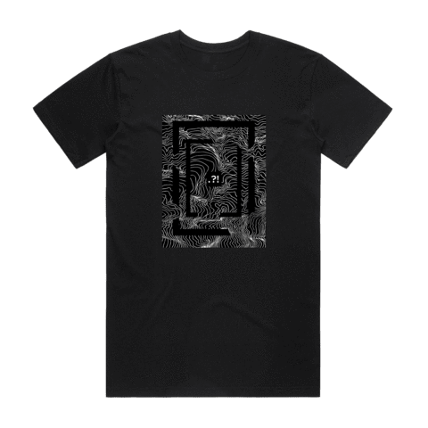 Square   Men's 100% Organic Cotton Minimal T-shirt in Black / XXL by Buff Diss