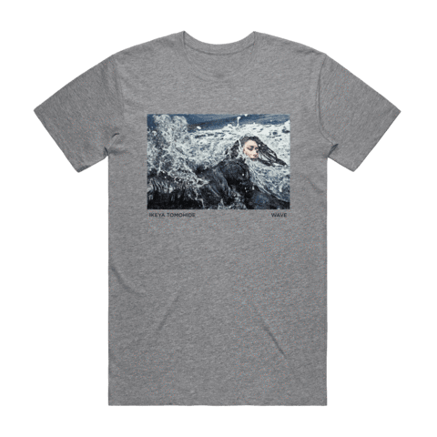 Wave   Men's 100% Cotton Gallery T-shirt in Grey / XXL by Ikeya Tomohide