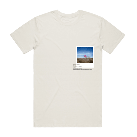 Hands All Over 06   Men's 100% Organic Cotton Gallery T-shirt in Natural / XXL by Serap Osman