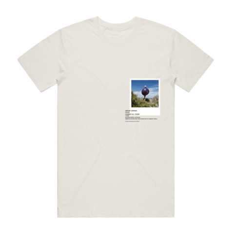 Hands All Over 08   Men's 100% Organic Cotton Gallery T-shirt in Natural / XXL by Serap Osman