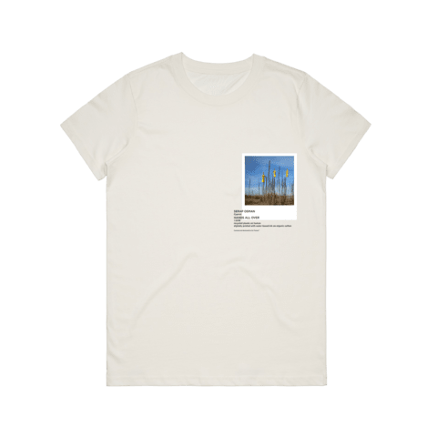 Hands All Over 09   Women's 100% Organic Cotton Gallery T-shirt in Natural / XXL by Serap Osman