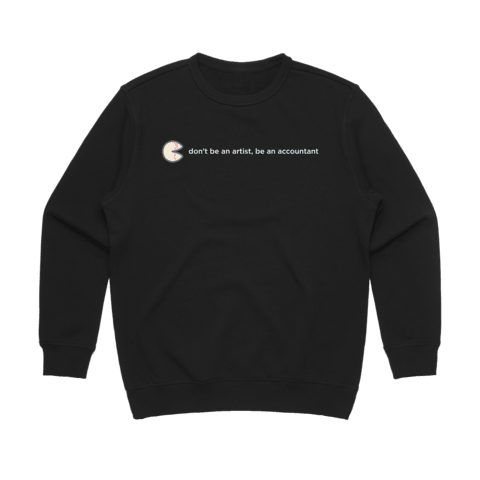 The Unfortunate Cookie 02   Women's 100% Cotton Sweatshirt in Black / XL by Raymond Tan