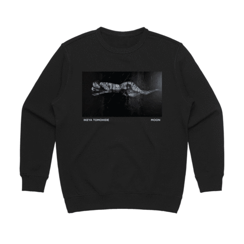 Moon   Women's 100% Cotton Gallery Sweatshirt in Black / XL by Ikeya Tomohide