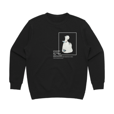 Bell People 03   Women's 100% Cotton Gallery Sweatshirt in Black / XXL by erinswindow