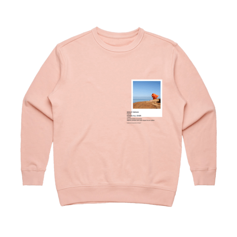 Hands All Over 03   Women's 100% Cotton Gallery Sweatshirt in Pale Pink / XL by Serap Osman