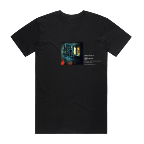 After Hours 1   Men's 100% Organic Cotton Gallery T-shirt in Black / XXL by Serap Osman
